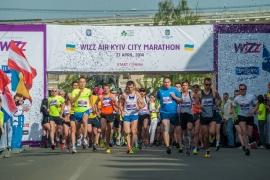 Fifth International Marathon Kiev. Marathon has three and a half thousand members from thirty-two countries. Kyiv, Ukraine