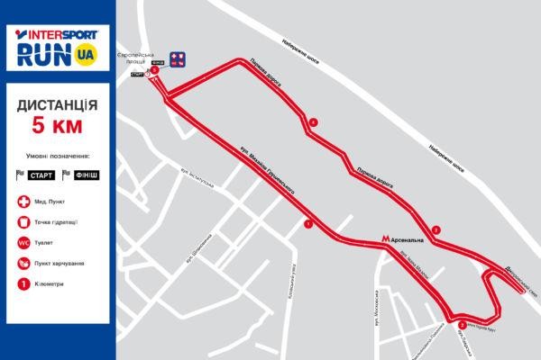 map 5km